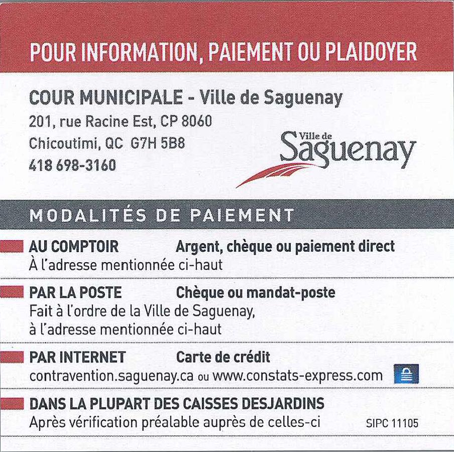 Ville Montréal Qc Ca Payer Constat >> Nouvelle Procedure Concernant Les Constats D Infraction Municipaux
